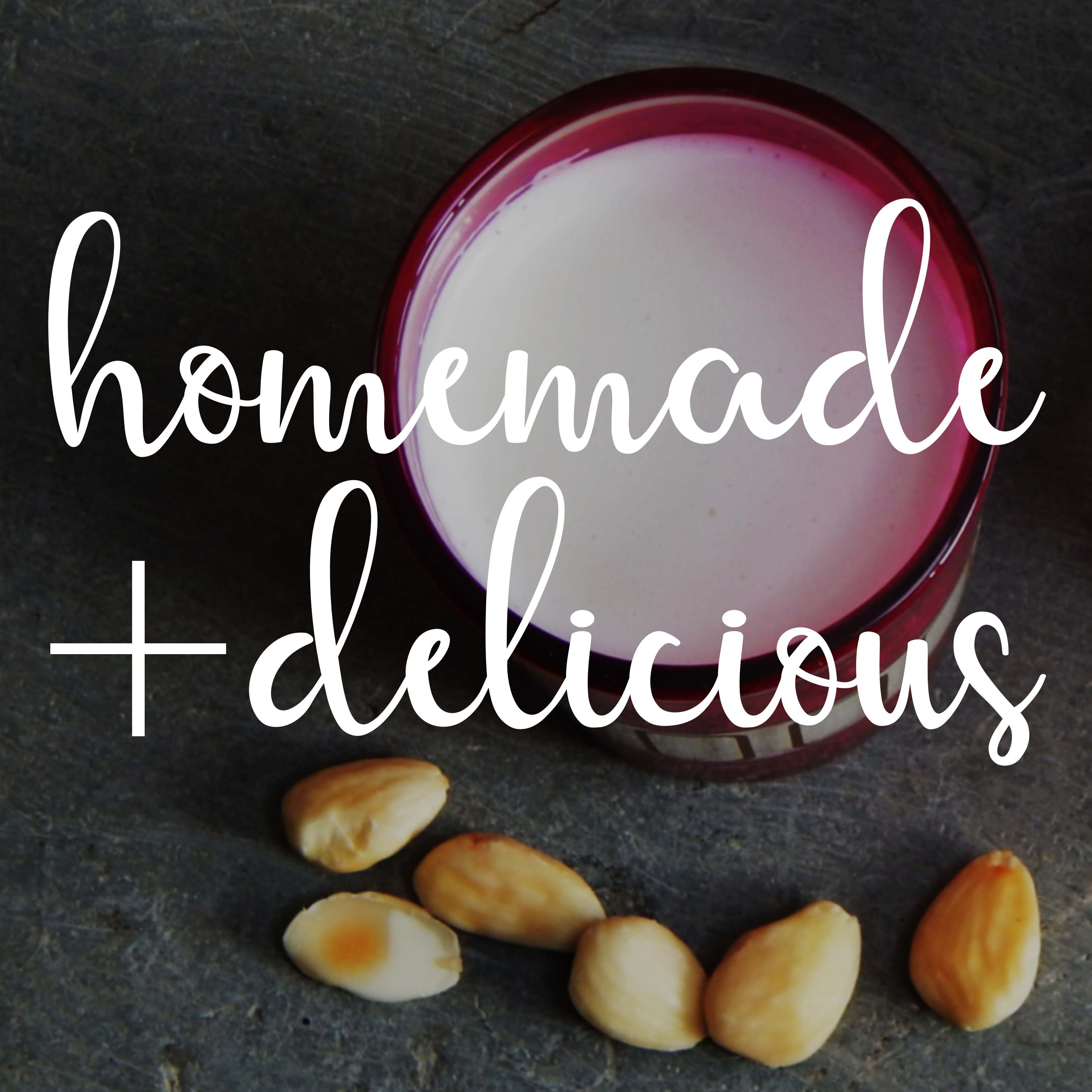 Holy cow! Homemade almond milk is actually better than shop-bought + we love it
