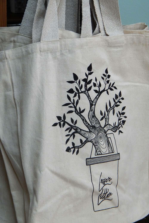 Lesser Litter cotton produce bag