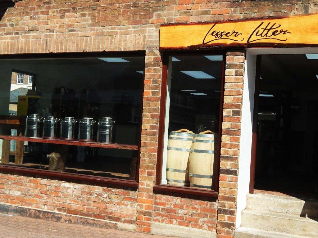 Lesser Litter shopfront