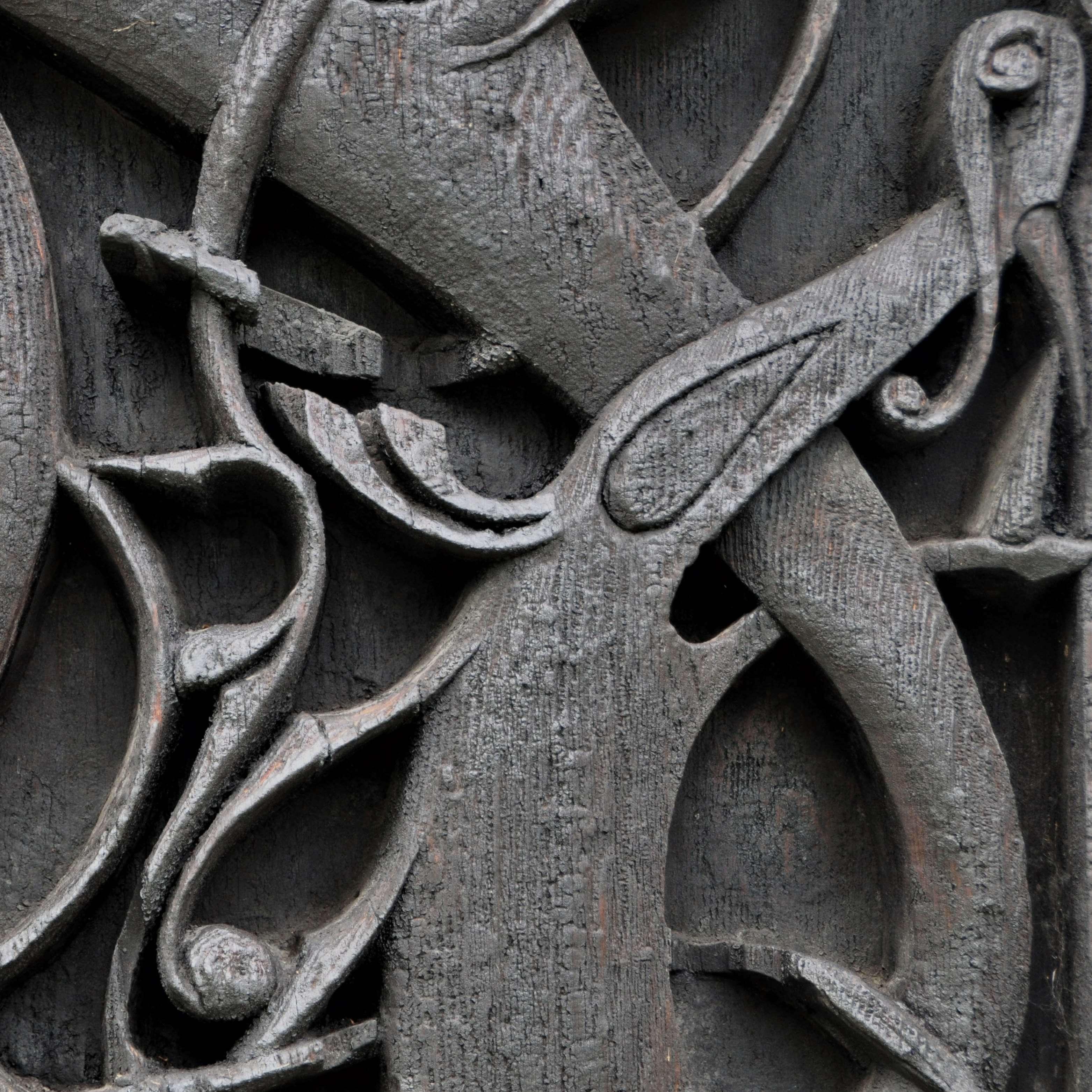 Viking carved design