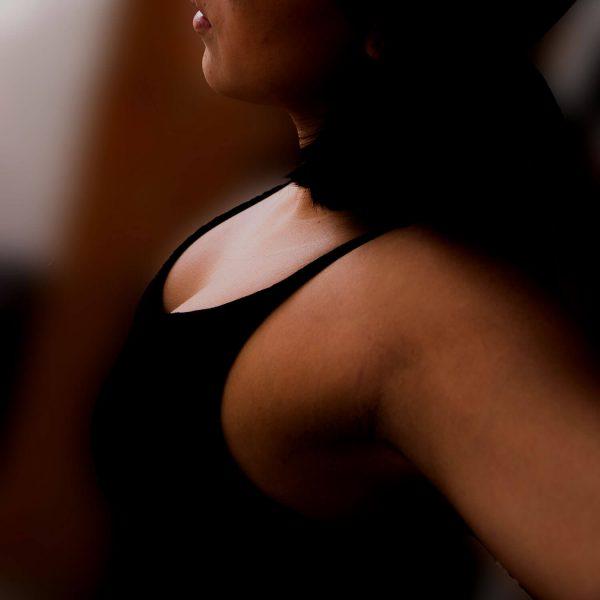 Woman's underarm