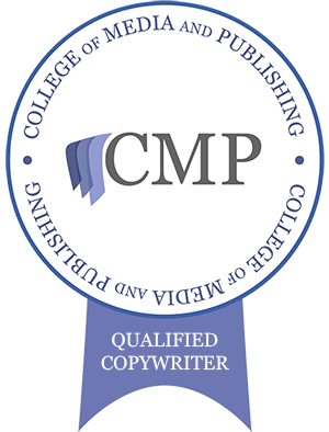 Copywriter Charter Mark from College of Media and Publishing